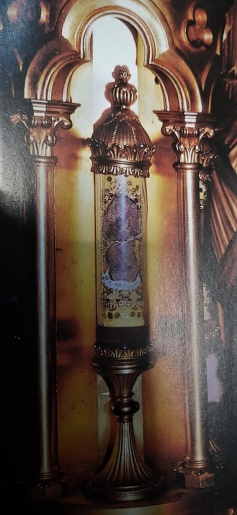 Reliquary containing the Bone of Mary Magdalene